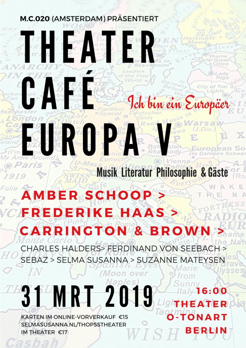 M.C.020 | THEATERCAFÉ EUROPA V | BERLIN 31 mrt 2019 D