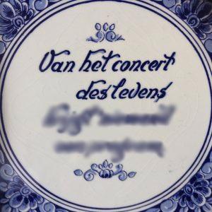 VAN HET CONCERT DES LEVENS… | 17,18,19 mei 2019