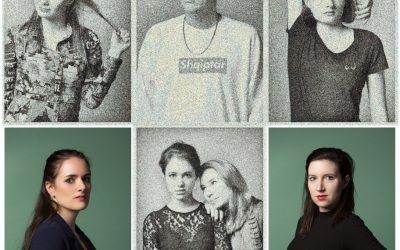 AKF 2020 halve finalisten met Lotte Velvet en Maria Kraaijkamp